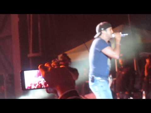 Luke Bryan, Country Girl Live, Albuquerque NM, 9/22/2013