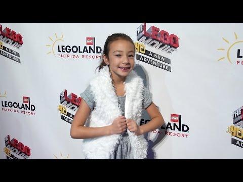 LEGOLAND Florida LEGO Movie 4D World Premiere Red Carpet Celebrity Arrivals & Interviews