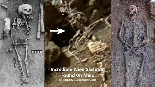 Incredible Alien Skeleton Confirms Without Doubt That Mars Did Have Life On It
