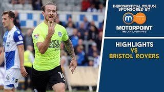 HIGHLIGHTS | Bristol Rovers vs The Posh