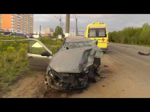 ДТП на Ленина умерла пассажирка Калины. Место происшествия 01.06.2016