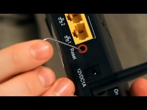 How to Reset a Router   Internet Setup