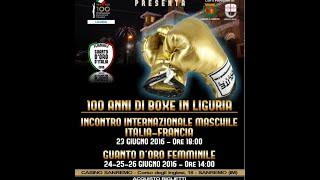 FINALISSIME Guanto d'Oro Femminile 2016 Trofeo E. Barigelli - Sanremo 24-26 Giugno