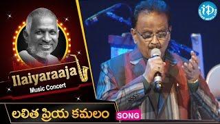 Lalitha Priya Kamalam Song -- Maestro Ilaiyaraaja Music Concert 2013 - Telugu - California, USA
