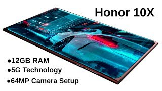 Honor 10X(Honor 10X) -5G,12GB RAM,1TB ROM,Features,Price,Launch/Honor 10X(Honor 10X)