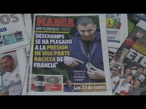 France sports minister decries Benzema racism claims