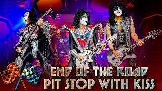 KISS Pit Stop with Paul Stanley's Guitar Tech - End Of The Road Tour