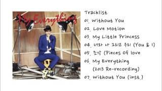 Lee Min Ho -- My Everything【FULL ALBUM 】