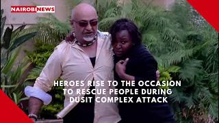 UNBOWED: Heroes to the rescue during Riverside terror attack