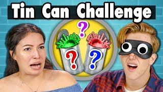 TIN CAN CHALLENGE | Teens Vs. Food