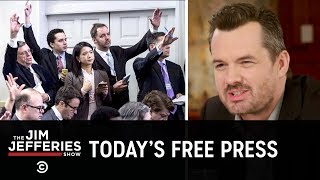 Talking to Reporters About Trump's Attacks on the Media - The Jim Jefferies Show