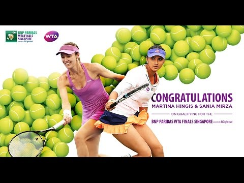 Martina Hingis and Sania Mirza Qualify For 2016 WTA Finals