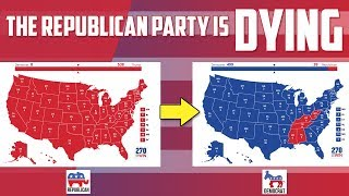 The Republican Party is running out of voters (The end of the Republican Party)?!!