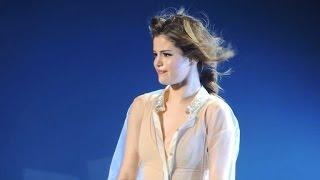 Selena Gomez Tears Up in Concert, Talks 'Crazy Ride'