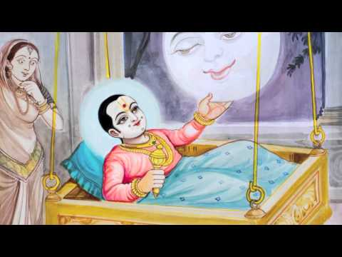 Short Swaminarayan Leela - Ghanshyam and the Moon