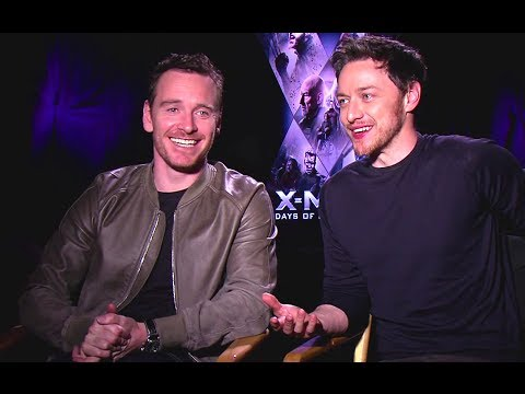 Michael Fassbender & James McAvoy Interview - X-Men: Days of Future Past (2014) JoBlo.com HD
