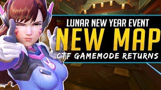 Overwatch NEW Map Lunar New Year Event - What else to expect