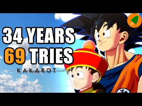 Dragon Ball Z's 69 Tries: The Road to Kakarot