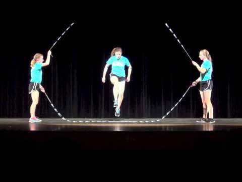 Intimidating Dance Talent Using a Cord