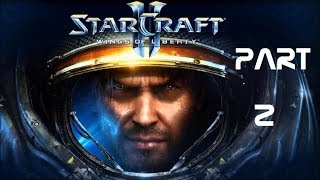 Starcraft 2 Wings of Liberty Part 2 - No commentary