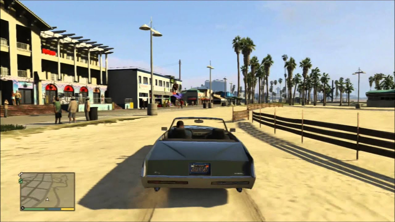 Grand Theft Auto V: Venice Beach - YouTube