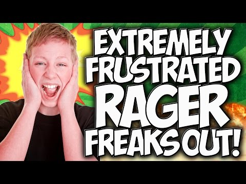 COD ADVANCED WARFARE: EXTREMELY FRUSTRATED RAGER FREAKS OUT!!