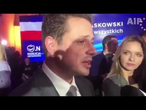 Rafał Trzaskowski Po Ogłoszeniu Jego Zwycięstwa W Wyborach Samorządowych W Warszawie
