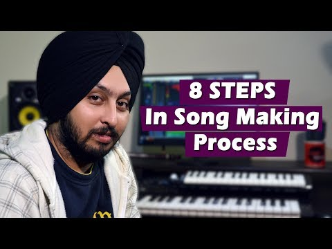 8 Steps In Song Making Process by Vikramajeet Singh | Musical Marshals | Punjabi Fever Worldwide