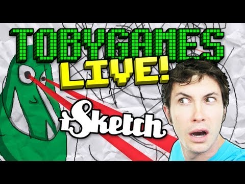TobyGames Live – iSKETCH