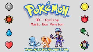 Cycling (Music box version) - Pokemon red/blue OST