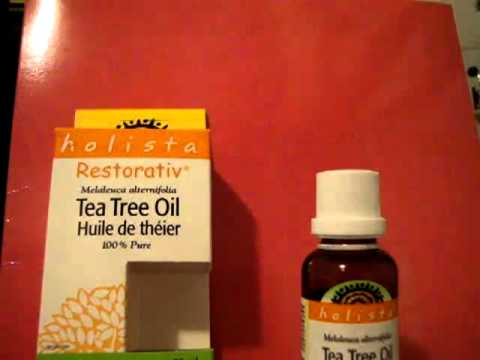 Get rid of acne! With Vitamins & Tea Tree Oil!