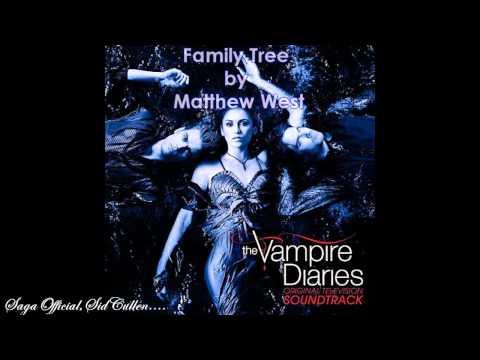 """Vampire Diaries S2X14 """"Crying Wolf """"  Family Tree"""