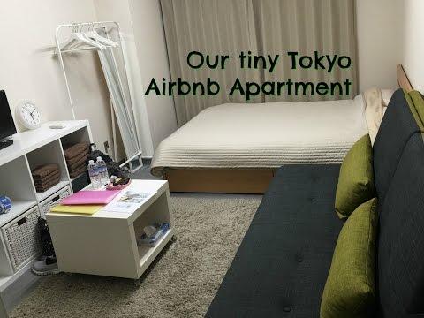 Travel Japan Part 4 -  Tiny Airbnb Apartment Tour Shinjuku Tokyo