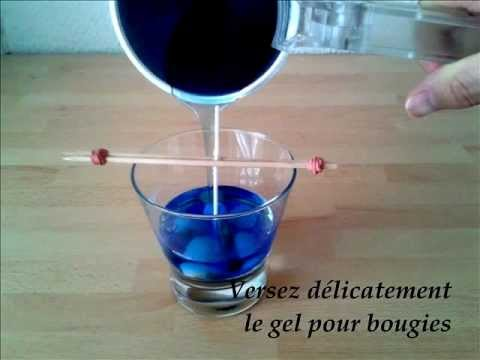 comment faire une bougie en gel youtube. Black Bedroom Furniture Sets. Home Design Ideas