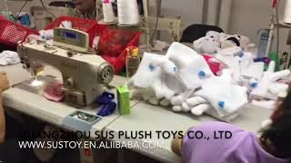 Dog Puppet-Plush Toy Production Process