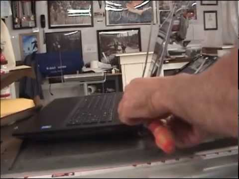 Laptop screen replacement / How to replace laptop screen LenovoG700