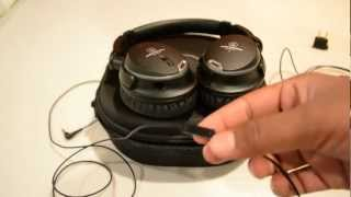 Audio Technica ATH-ANC9 QuietPoint Noise Cancelling Headphones