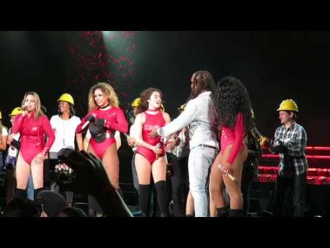 Fifth Harmony - Work from home ft Ty Dolla Sign - 7/27 Tour Irvine CA
