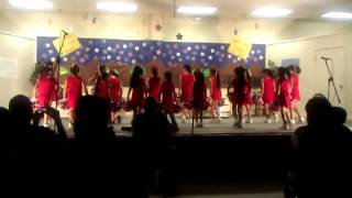 Adams Hill Talent Show 2012 - Cheerleaders