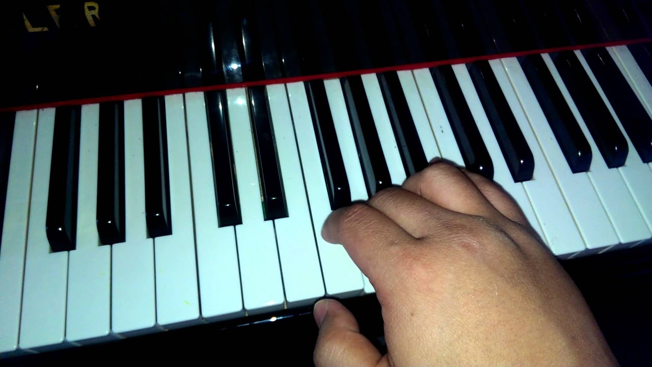 how to play let it gto on piano