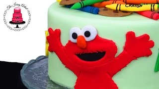 download lagu Fondant Elmo Cake - How To With The Icing gratis