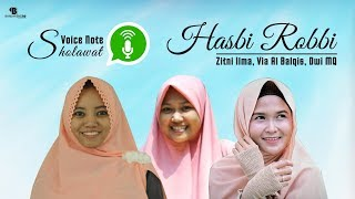 Download Lagu Hasbi Robbi Jalallah - Dwi MQ, Via Al Balqis, Zitni Ilma Gratis STAFABAND