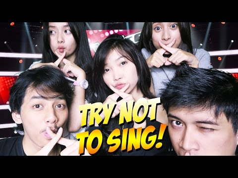 SUMPEL MULUT KALIAN!! - TRY NOT TO SING CHALLENGE