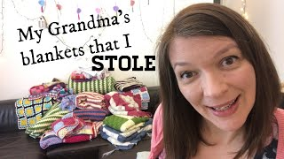 LET'S TALK ABOUT THE CROCHET BLANKETS THAT I STOLE   Ophelia Talks