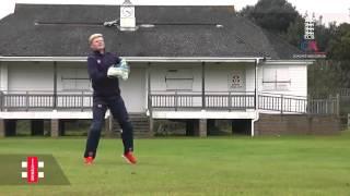 Sam Billings wicketkeeping drills