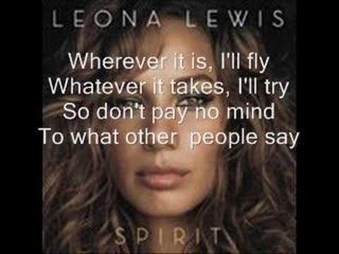 Leona Lewis-Whatever it Takes w/lyrics