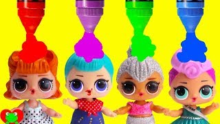 Learn Colors and Opposites with LOL Dolls
