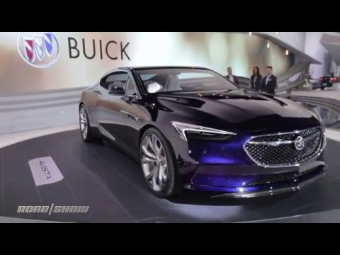 Buick debuts stunning Avista concept at North American International Auto Show.