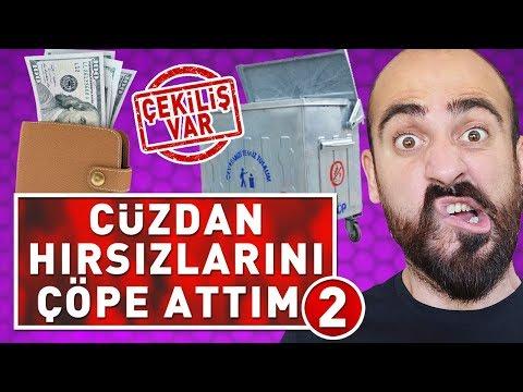 CÜZDAN HIRSIZLARINI ÇÖPE ATARAK TROLLEDİM 2 ! (ÇEKİLİŞ VAR)
