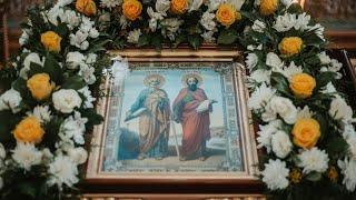 Празднование памяти апостолов Петра и Павла в Симбирской епархии